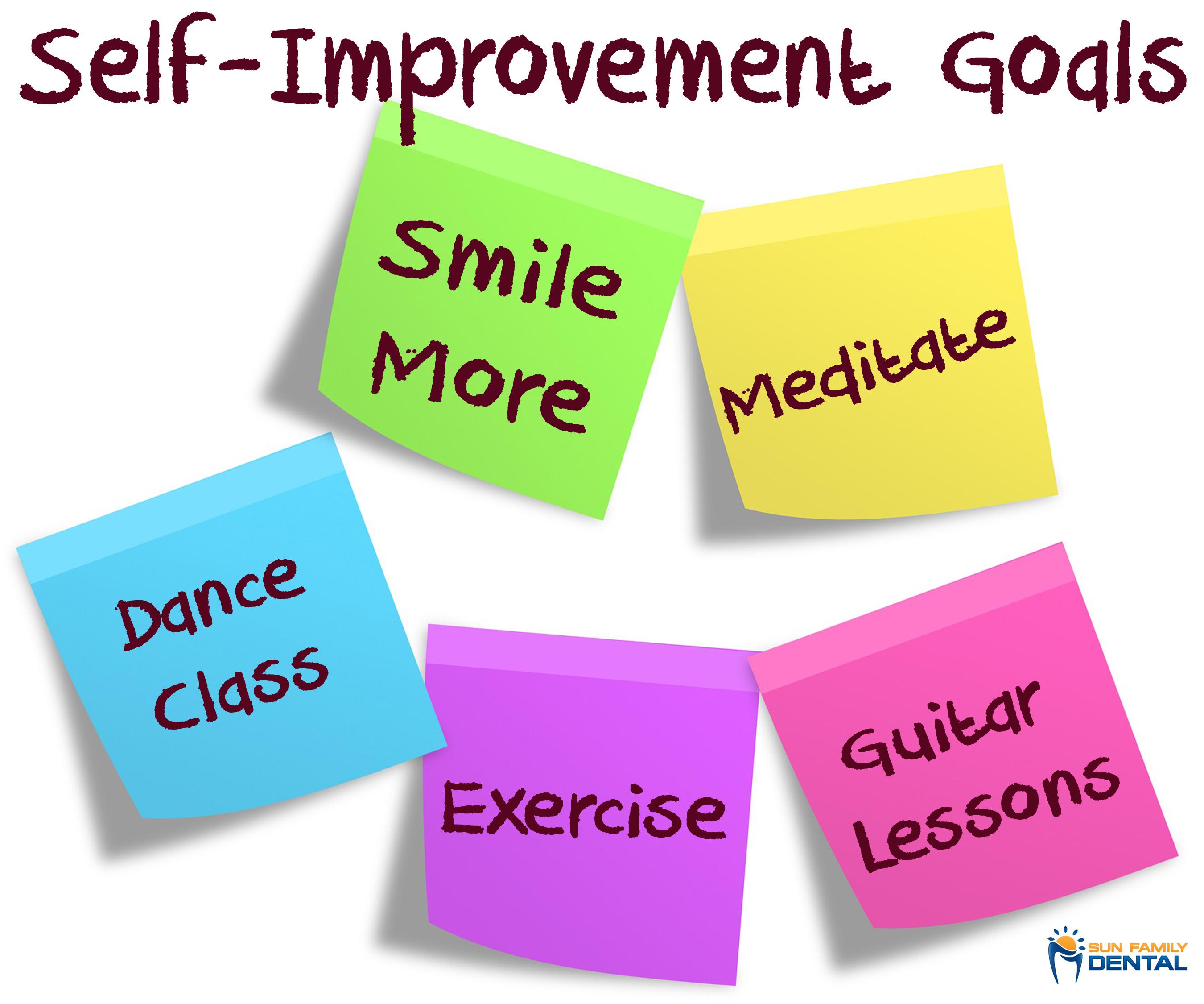 Welcome September Is National Self Improvement Month Dentist Milton Alpharetta Cumming Ga 30004 30040 Dr Shainal Nagar Sun Family Dental